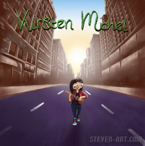 Kirsten Michel EP artwork voor SAI artwork FRONT